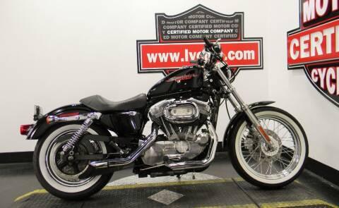 2006 Harley-Davidson SPORTSTER 883 for sale at Certified Motor Company in Las Vegas NV
