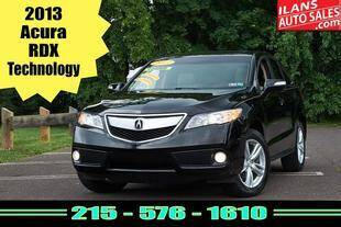 2013 Acura RDX for sale at Ilan's Auto Sales in Glenside PA