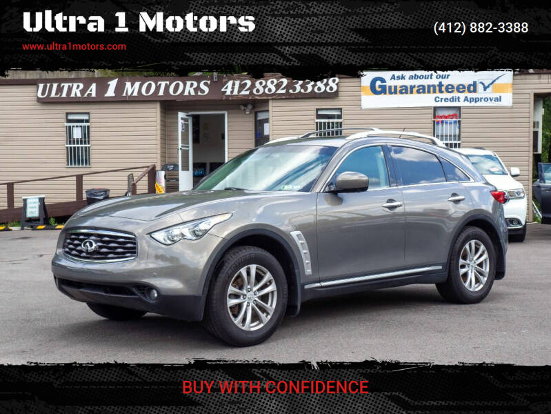 2009 Infiniti FX35 for sale at Ultra 1 Motors in Pittsburgh PA