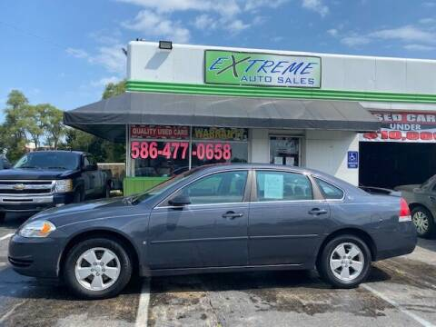 2008 Chevrolet Impala for sale at Extreme Auto Sales in Clinton Township MI