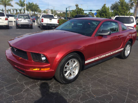2007 Ford Mustang for sale at CAR-RIGHT AUTO SALES INC in Naples FL