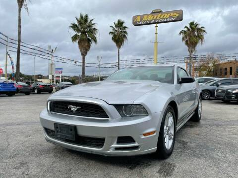 2013 Ford Mustang for sale at A MOTORS SALES AND FINANCE - 5630 San Pedro Ave in San Antonio TX