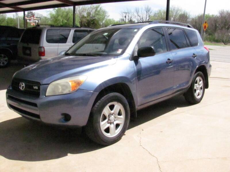 2008 Toyota RAV4 for sale at CANTWEIGHT CLASSICS in Maysville OK