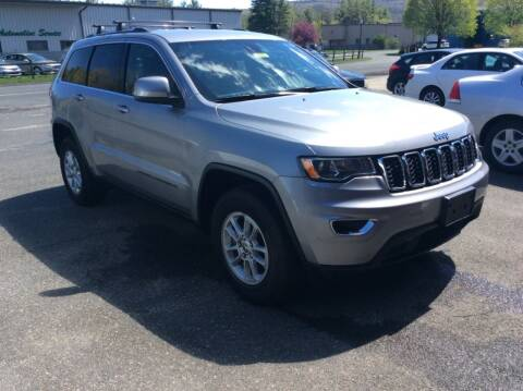 2018 Jeep Grand Cherokee for sale at Route 102 Auto Sales  and Service in Lee MA