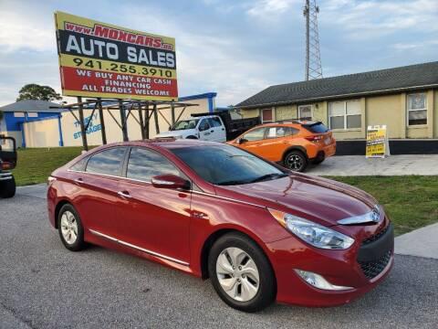 2013 Hyundai Sonata Hybrid for sale at Mox Motors in Port Charlotte FL
