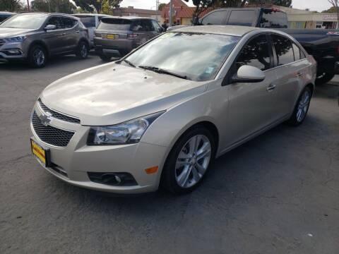2013 Chevrolet Cruze for sale at L & M MOTORS in Santa Maria CA