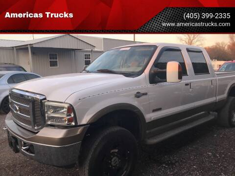 2006 Ford F-350 Super Duty for sale at Americas Trucks in Jones OK