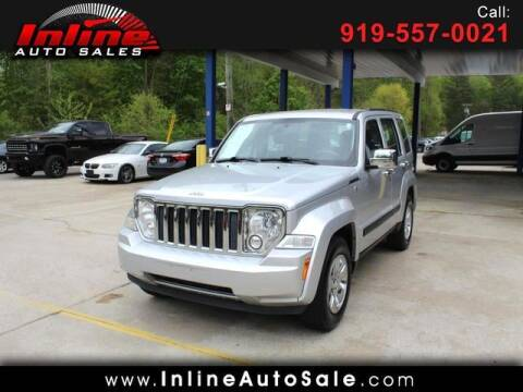 2012 Jeep Liberty for sale at Inline Auto Sales in Fuquay Varina NC