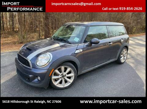 2013 MINI Clubman for sale at Import Performance Sales in Raleigh NC