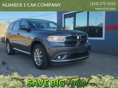 2017 Dodge Durango for sale at NUMBER 1 CAR COMPANY in Detroit MI