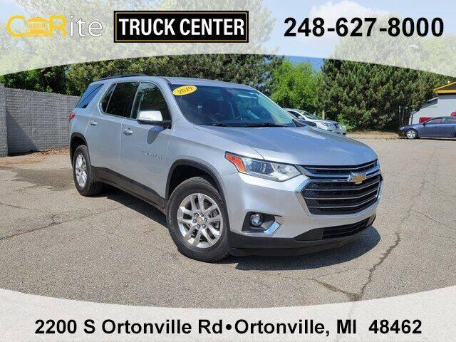 2019 Chevrolet Traverse for sale at Carite Truck Center in Ortonville MI