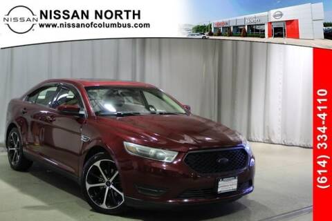 2014 Ford Taurus for sale at Auto Center of Columbus in Columbus OH