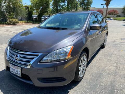 2014 Nissan Sentra for sale at PRESTIGE AUTO SALES GROUP INC in Stevenson Ranch CA