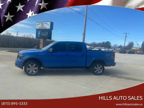 2014 Ford F-150 for sale at Hills Auto Sales in Salem AR