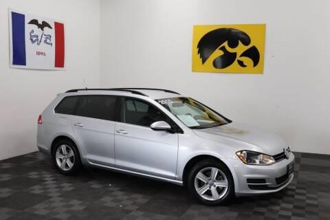 2015 Volkswagen Golf SportWagen for sale at Carousel Auto Group in Iowa City IA