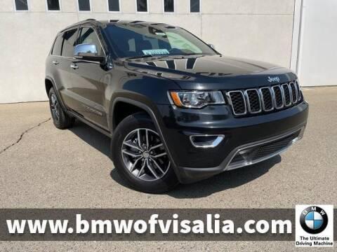 2018 Jeep Grand Cherokee for sale at BMW OF VISALIA in Visalia CA