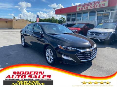 2021 Chevrolet Malibu for sale at Modern Auto Sales in Hollywood FL