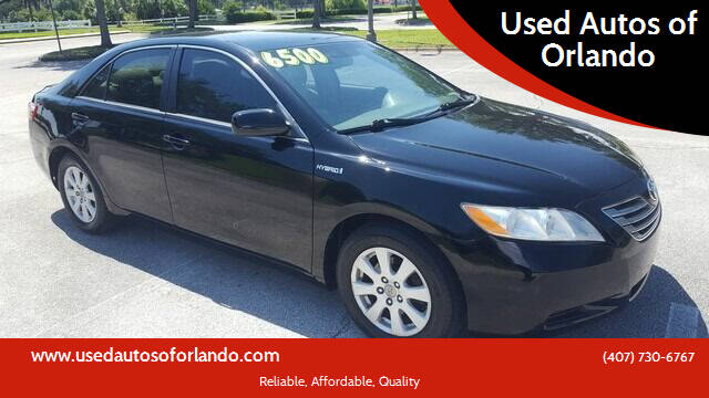 2009 Toyota Camry Hybrid for sale at Used Autos of Orlando in Orlando FL