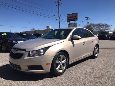 2012 Chevrolet Cruze for sale at Autohaus of Greensboro in Greensboro NC