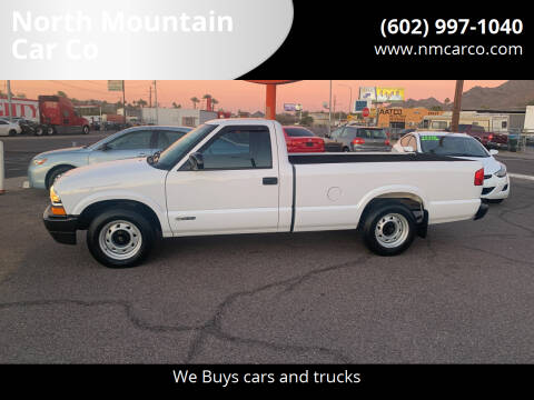 2002 Chevrolet S-10 for sale at North Mountain Car Co in Phoenix AZ