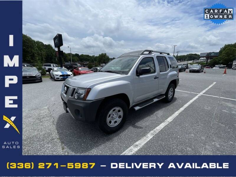 2015 Nissan Xterra for sale at Impex Auto Sales in Greensboro NC