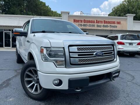 2013 Ford F-150 for sale at North Georgia Auto Brokers in Snellville GA
