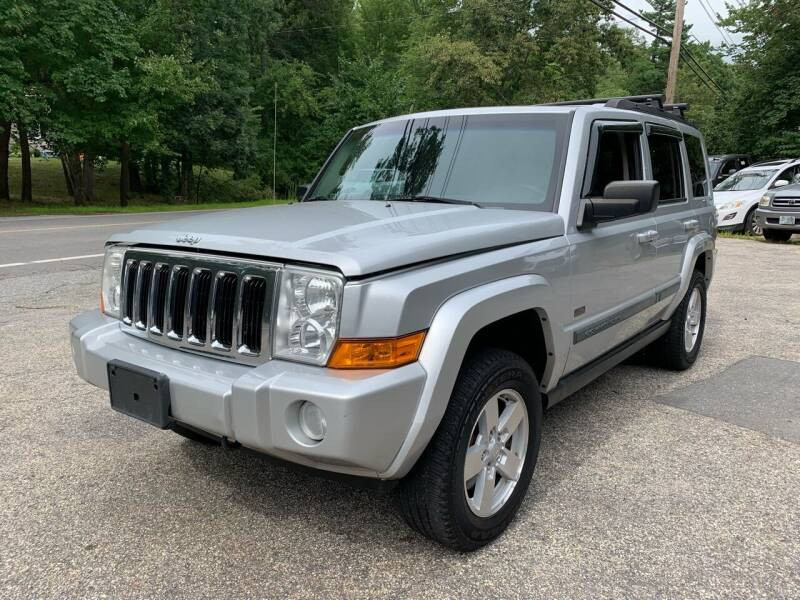 2008 Jeep Commander for sale at Old Rock Motors in Pelham NH