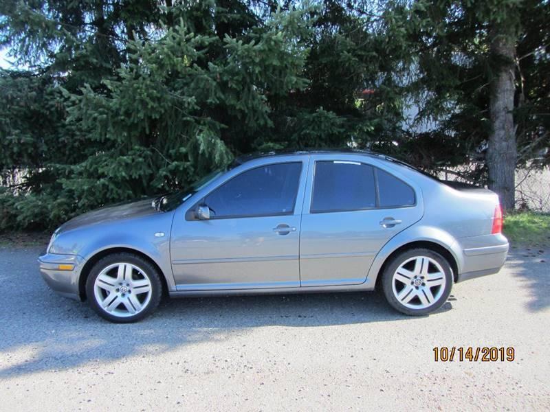 2003 Volkswagen Jetta for sale at B & C Northwest Auto Sales in Olympia WA