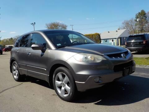 2008 Acura RDX for sale at RTE 123 Village Auto Sales Inc. in Attleboro MA