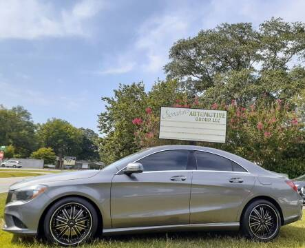 2015 Mercedes-Benz CLA for sale at SIGNATURES AUTOMOTIVE GROUP LLC in Spartanburg SC