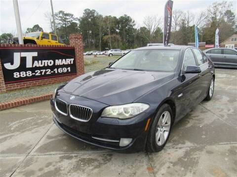 2012 BMW 5 Series for sale at J T Auto Group in Sanford NC