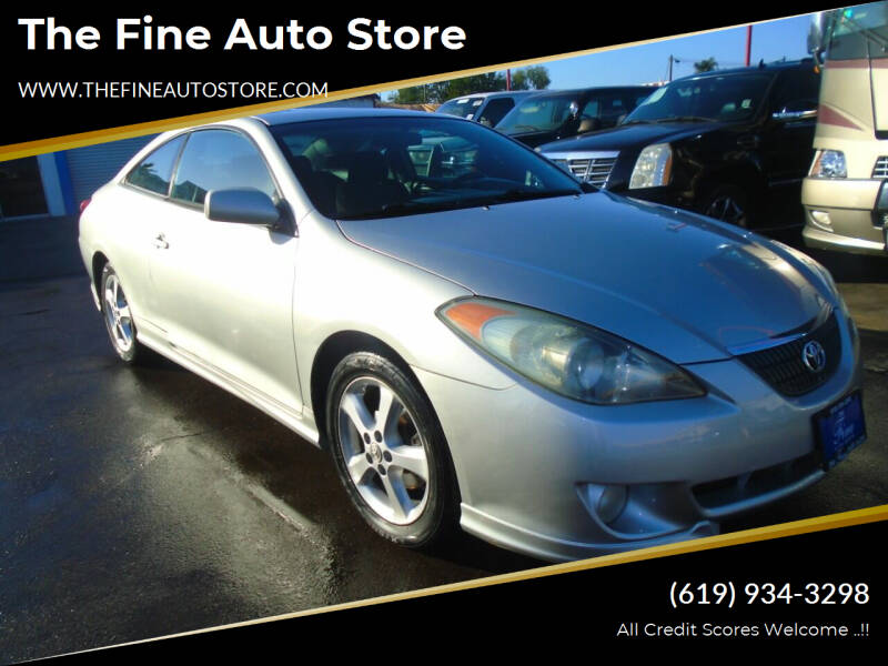 2004 Toyota Camry Solara for sale at The Fine Auto Store in Imperial Beach CA