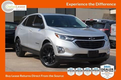 2018 Chevrolet Equinox for sale at Dallas Auto Finance in Dallas TX