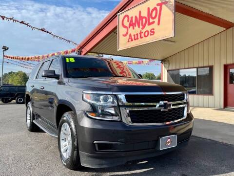 2018 Chevrolet Tahoe for sale at Sandlot Autos in Tyler TX