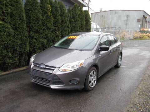 2012 Ford Focus for sale at Royal Auto Sales, LLC in Algona WA