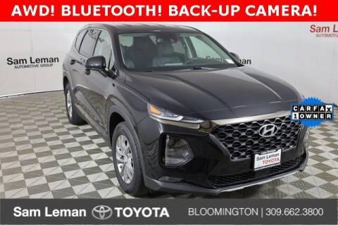 2019 Hyundai Santa Fe for sale at Sam Leman Mazda in Bloomington IL