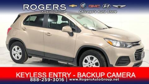 2018 Chevrolet Trax for sale at ROGERS  AUTO  GROUP in Chicago IL