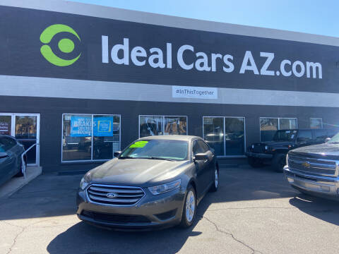 2015 Ford Taurus for sale at Ideal Cars Atlas in Mesa AZ