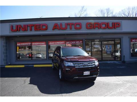 2018 Ford Explorer for sale at United Auto Group in Putnam CT