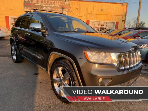 2011 Jeep Grand Cherokee for sale at Virginia Auto Mall in Woodford VA