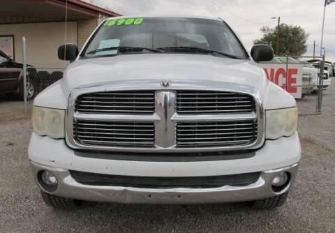 2005 Dodge Ram Pickup 1500 for sale at The Auto Shop in Alamogordo NM