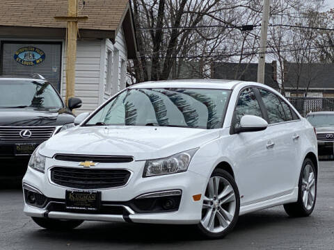 2015 Chevrolet Cruze for sale at Kugman Motors in Saint Louis MO