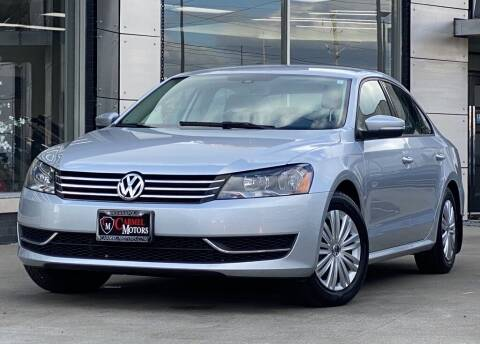 2014 Volkswagen Passat for sale at Carmel Motors in Indianapolis IN