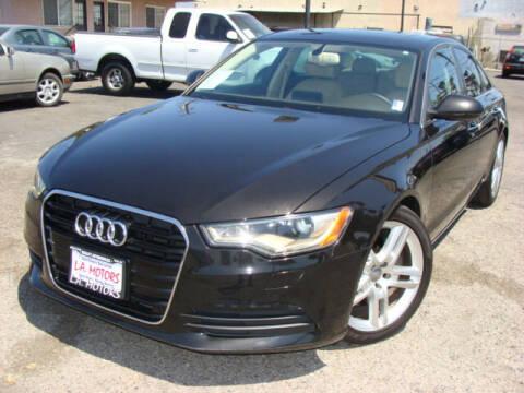 2014 Audi A6 for sale at L.A. Motors in Azusa CA