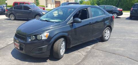 2014 Chevrolet Sonic for sale at PEKARSKE AUTOMOTIVE INC in Two Rivers WI