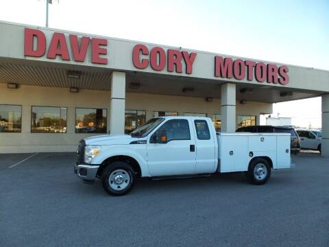 2011 Ford F-350 Super Duty for sale at DAVE CORY MOTORS in Houston TX