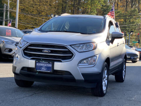 2018 Ford EcoSport for sale at Westchester Automotive in Scarsdale NY