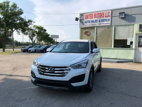 2014 Hyundai Santa Fe Sport for sale at United Motors LLC in Saint Francis WI