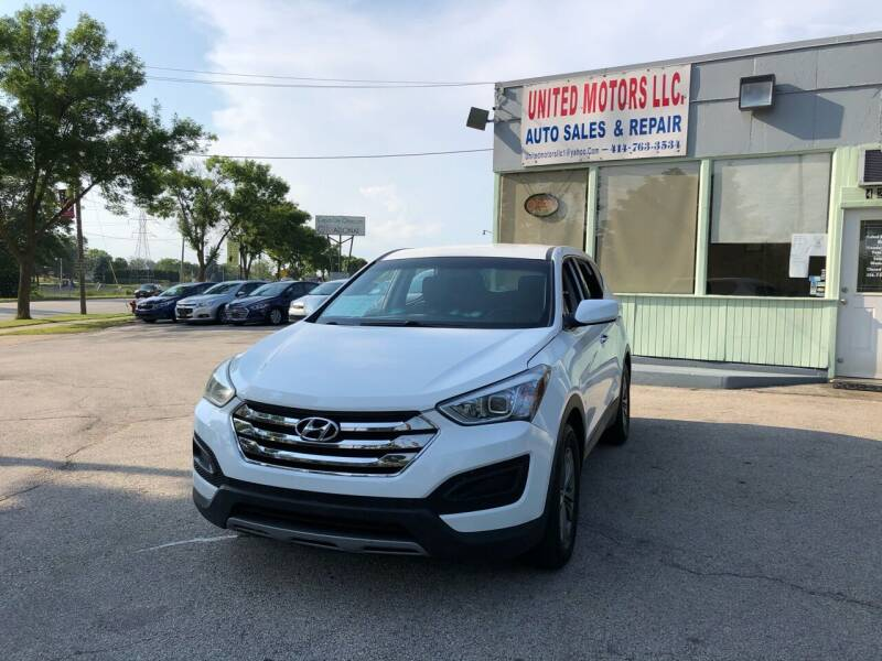 2014 Hyundai Santa Fe Sport for sale at United Motors LLC in Saint Francis WI