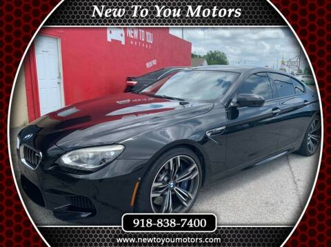 2014 BMW M6 for sale at New To You Motors in Tulsa OK